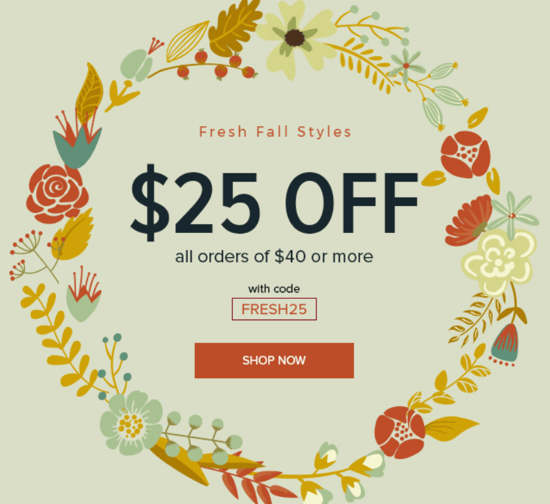 1b1606d50515 Through today (11/19) you can get $25 OFF your next $40+ order when you use  promo code FRESH25 at Schoola.com! Even better, place an order $50 or more,  ...