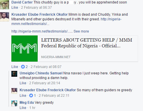 People rain curses on MMM admin as no hope in sight over money