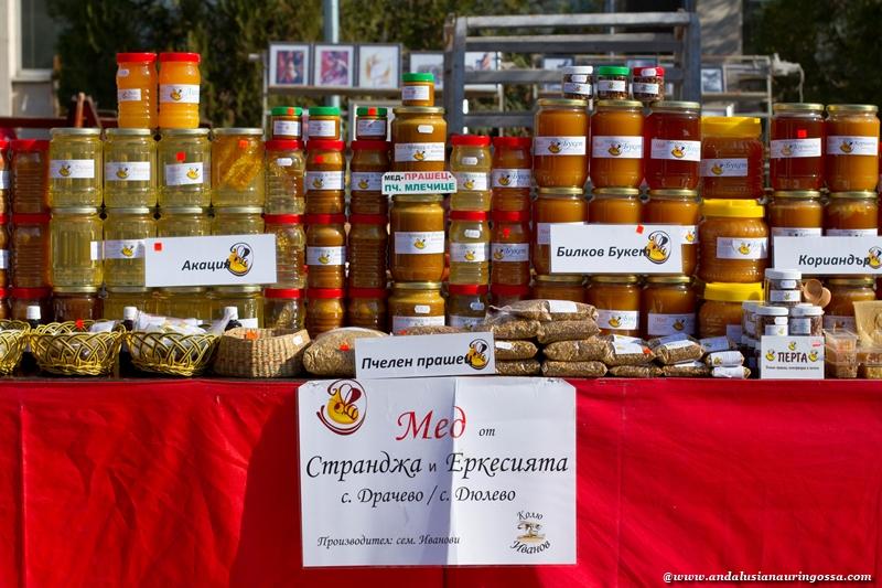 Sofia_Bulgaria_kauppahalli_bulgarialainen hunaja