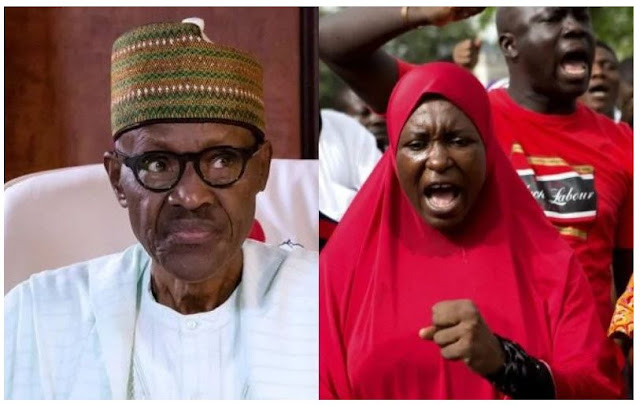 #LazyNigerianYouths: Aisha reacts to Buhari' s comment in London