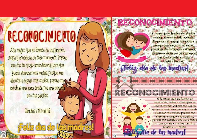 mamá,poemas,madrecitas,diploma,primaria