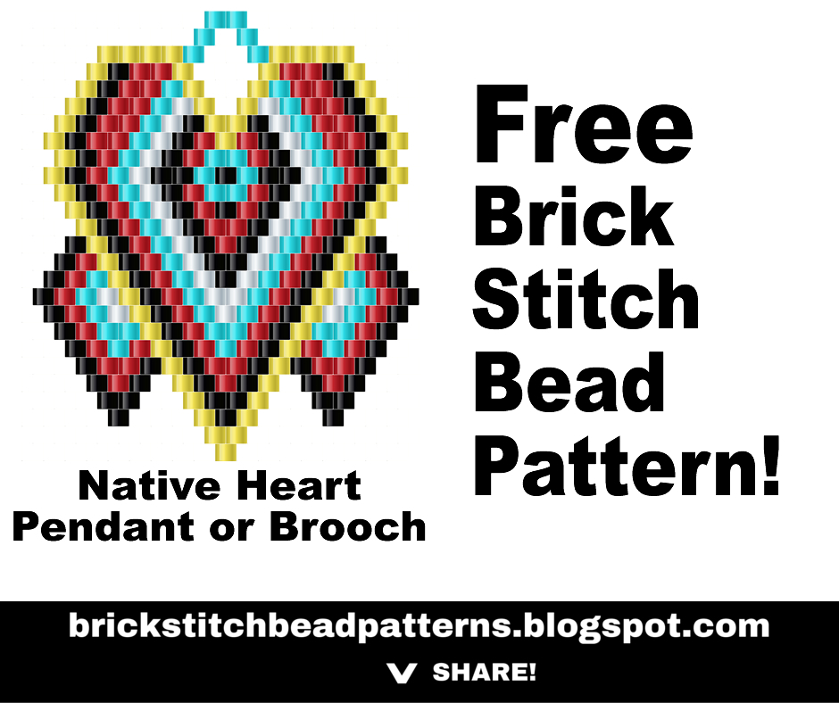 graphic relating to Free Printable Native American Beading Patterns known as Brick Sch Bead Models Magazine: Indigenous Centre Brick