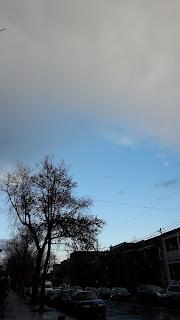 Villeray, Montréal, ciel nuageux