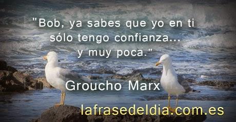 Citas simpáticas de Groucho Marx