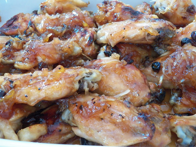 Wings #5 with Crosse and Blackwell Chutneys