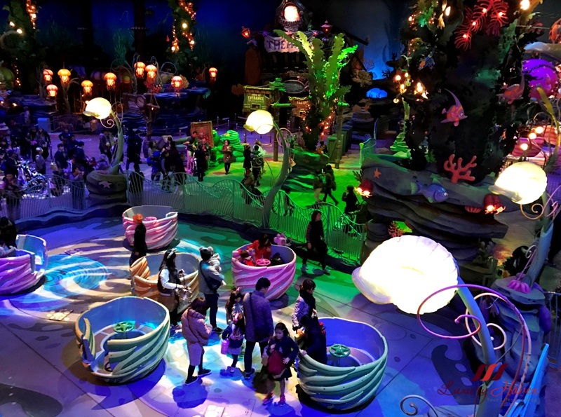disneysea mermaid lagoon ariel playground review