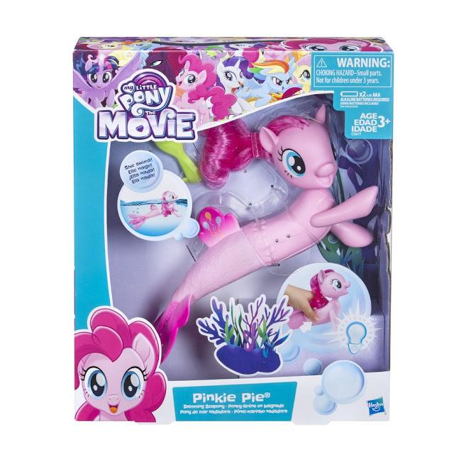 My Little Pony The Movie - Pinkie Pie Swimming Seapony