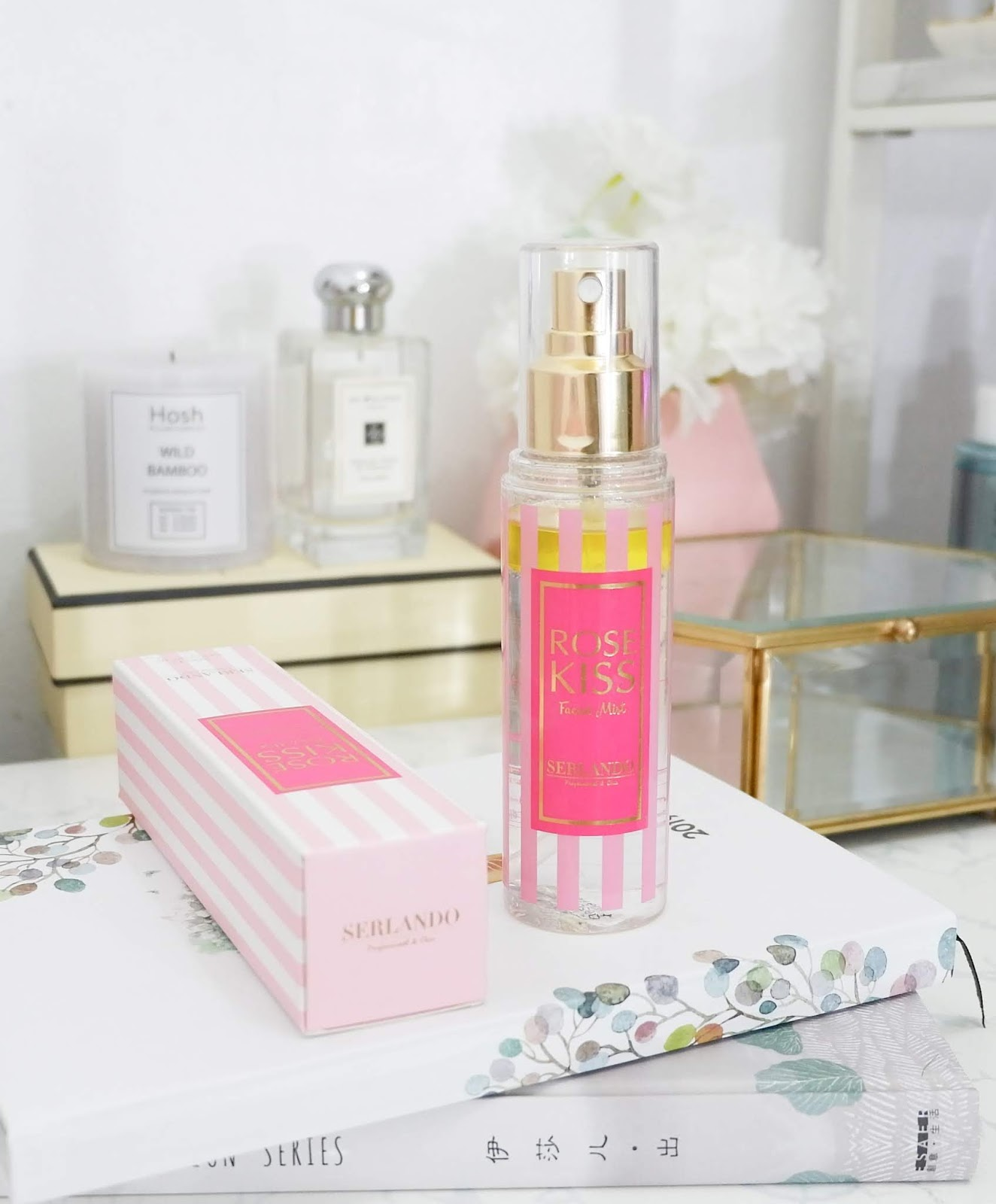 SERLANDO ROSE KISS FACIAL MIST REVIEW PH