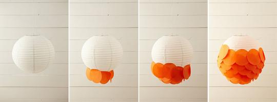 Personalizar lamparas de papel de arroz decoraci n for Decorar pantalla de lampara