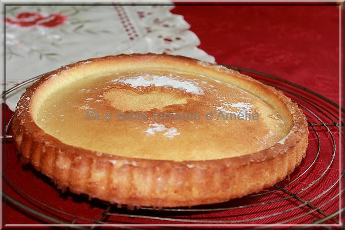 Gateau avec fond de tarte viennois
