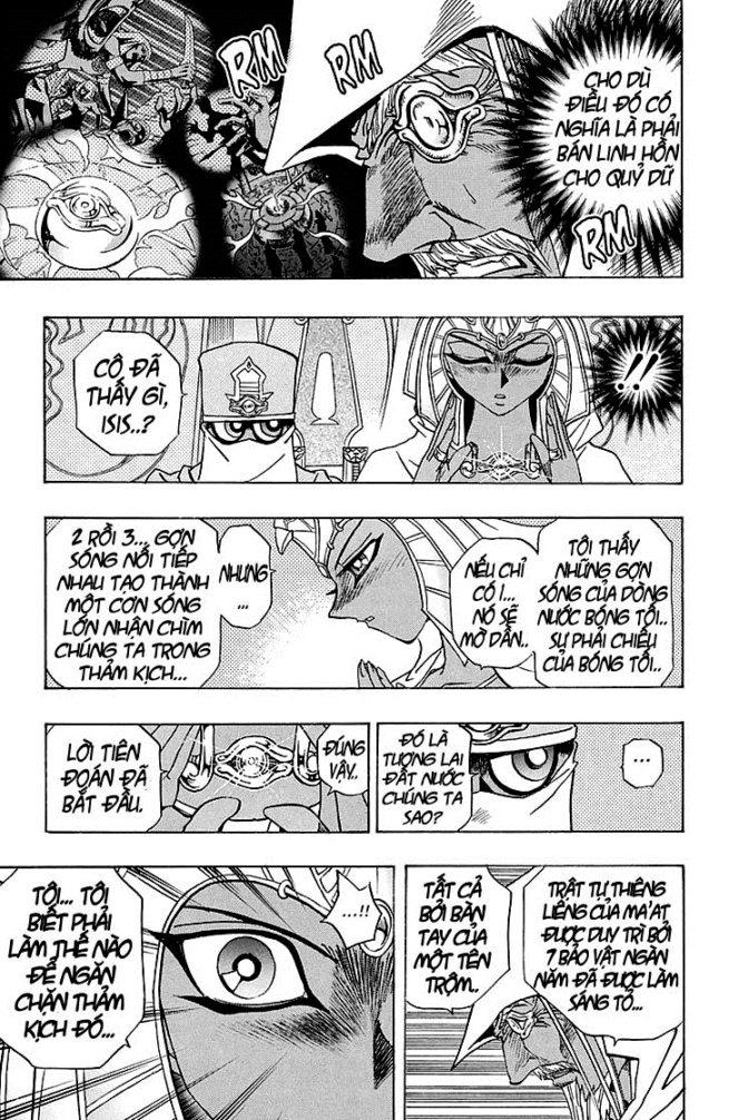 YUGI-OH! chap 309 - bóng đêm dậy sóng trang 5