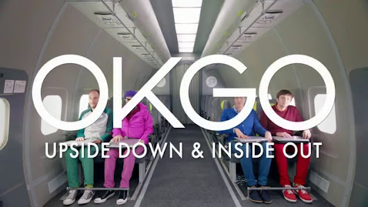 "OK Go in ""Upside Down & Inside Out"""
