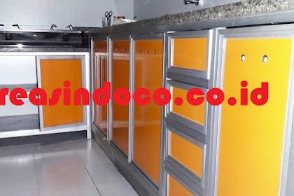 Pemasangan Kitchen Set Aluminium di Pondok Gede Jati Waringin