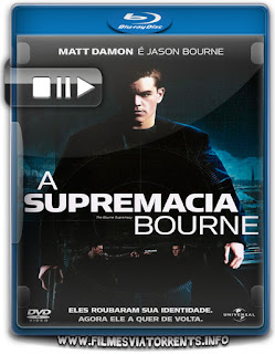 A Supremacia Bourne Torrent - BluRay Rip 1080p Dublado