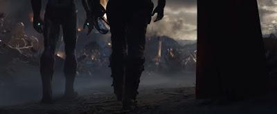 thor, iron man, tony stark, captain america, steve rogers, infinity sword, thanos, avengers, avengers endgame, marvel