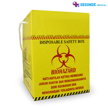 Safety Box 2,5 Liter Disposable