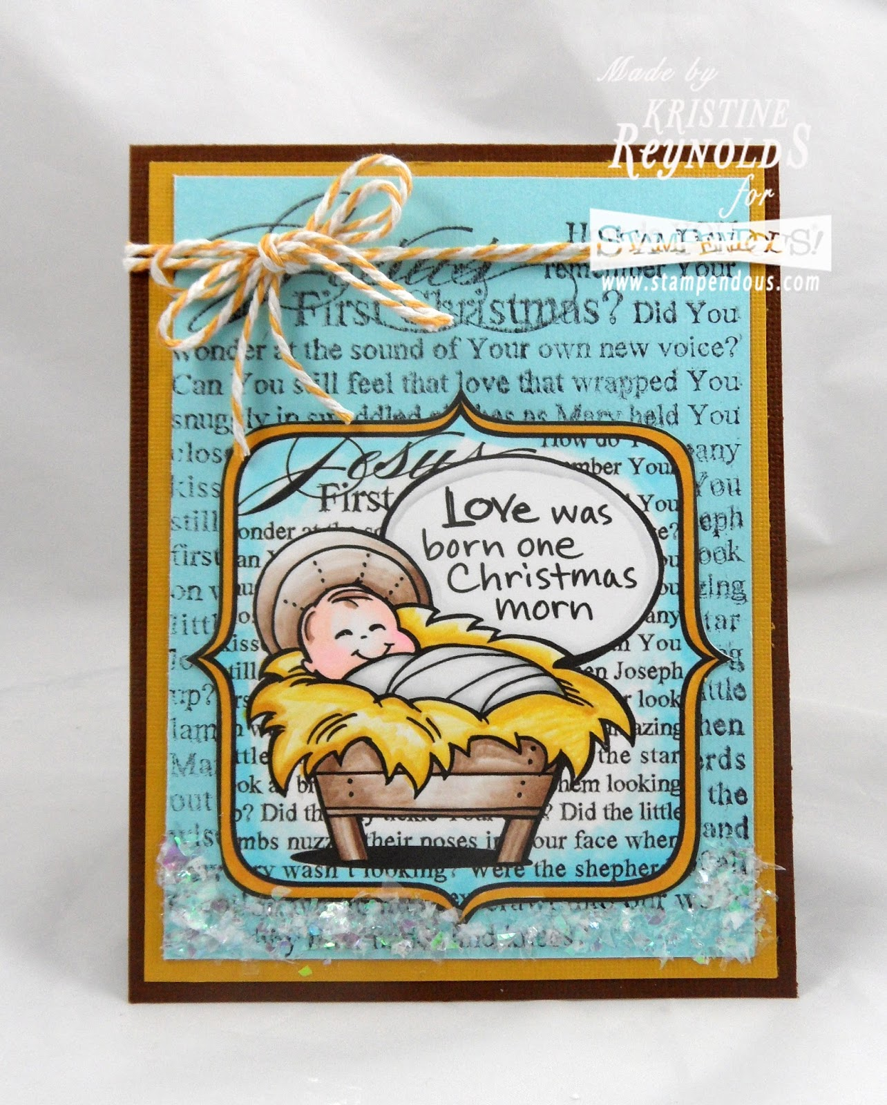 Stamping & Scrapping In California: Love Was Born