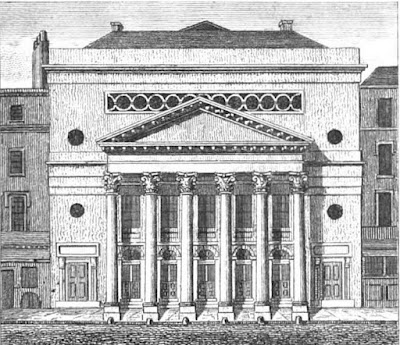 Haymarket Theatre from Leigh's New Picture of London (1827)