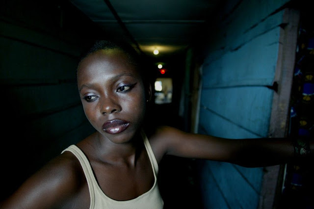 Black woman sad