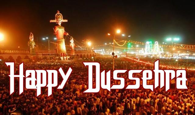 Happy Dusshera Images, HD Wallpapers of Ravan Burning