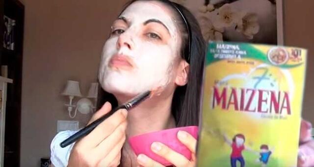 maizena masker
