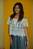 Eesha in a cute deep neck top and Skirt at at Big FM 120.JPG
