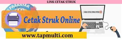cetak struk top auto payment