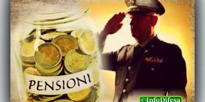 PENSIONI MILITARI, ECCO COSA CAMBIA DAL 2019
