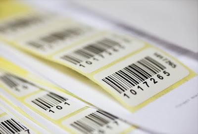 Etiquetas codigos de barras