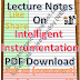 Lecture Notes on Intelligent Instrumentation PDF Download