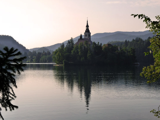 Lago Bled. Eslovenia www.caravaneros.com
