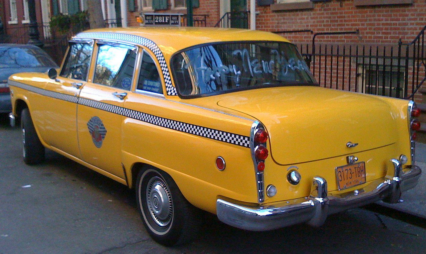 alianzaverdeporlaccionpacifica: Last of the Checker Taxi