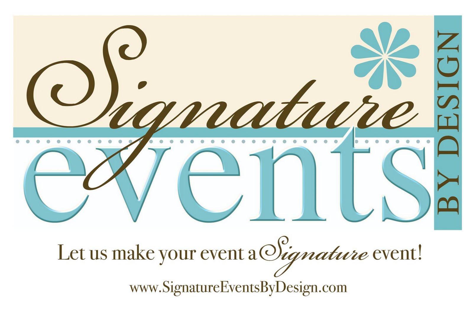 Signature Event Rentals Logo Makeover