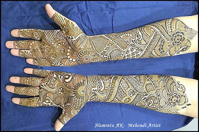 bridal mehndi designs for full hands pictures