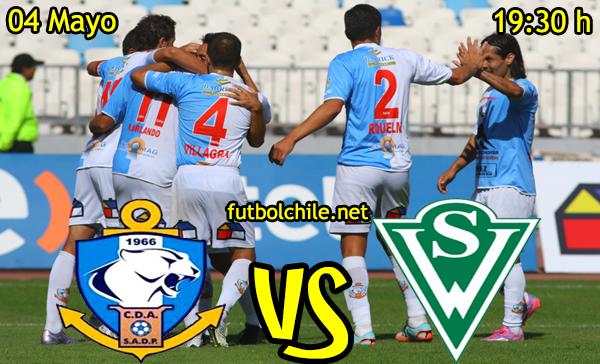 VER STREAM YOUTUBE RESULTADO EN VIVO, ONLINE: Deportes Antofagasta vs Santiago Wanderers,