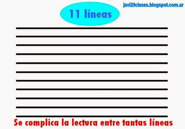 notación musical en once líneas