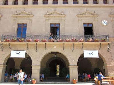 City Hall of Valderrobres in The Poble Espanyol
