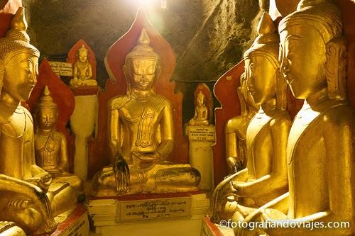 Shwe Oo Min cueva en Pindaya