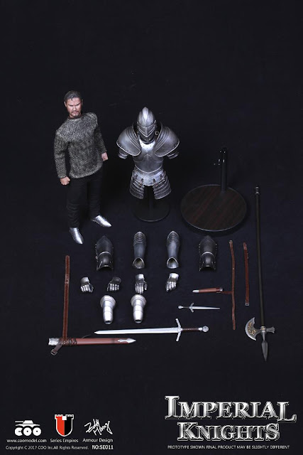 osw.zone COO MODEL SE011 Diecast alloy 1 / 6er scale Reichsreihe Royal Knight Collector item