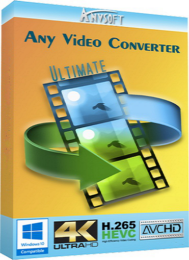 Any Video Converter Ultimate 6.2.3 poster box cover