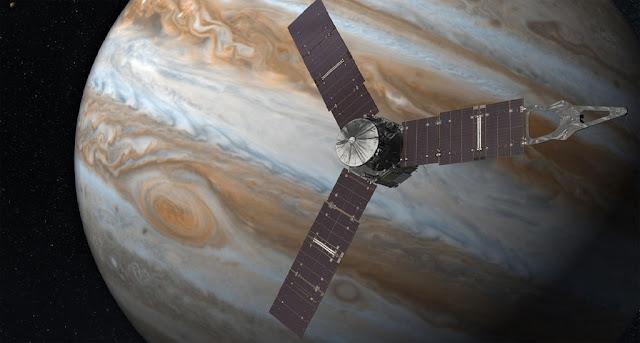 Sonda Juno - Jupiter
