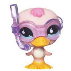 Littlest Pet Shop Pet Pairs Duck (#825) Pet