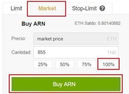 Comprar Aeron (ARN) en Binance y Coinbase