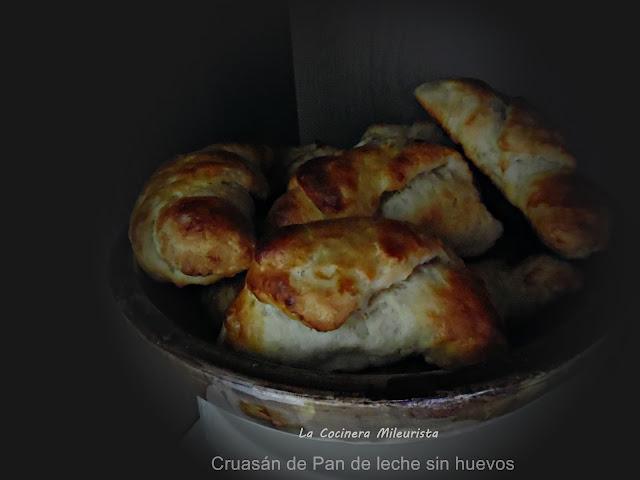 Cruasán De Pan De Leche Sin Huevos