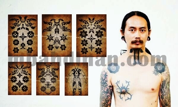 tatoo dayak