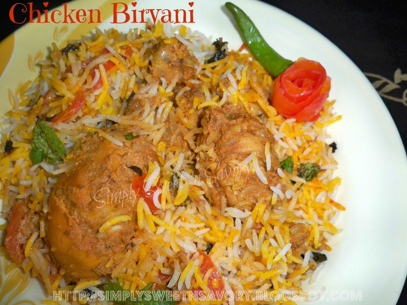 Cloves Simply Sweet N Savory Chicken Biryani