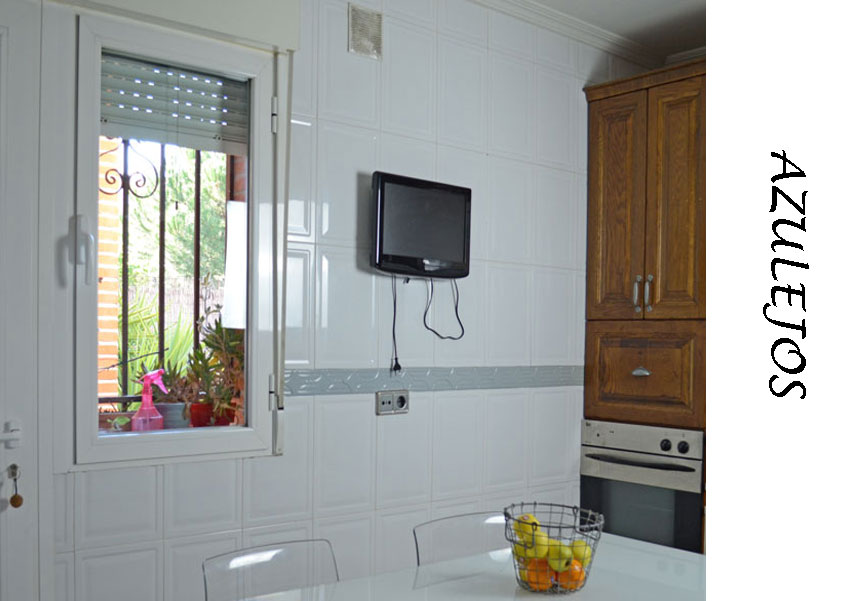 Azulejos de cocina pintados fabulous with azulejos de - Azulejos pintados cocina ...