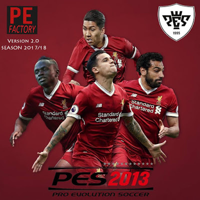 PES 2013 PESEdit Factory Patch Vol. 2 New Season 2018 Released 12-16-2017