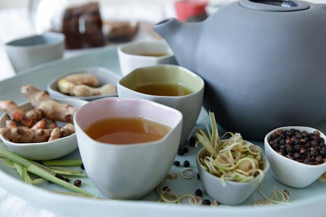 Lemongrass, Ginger, Turmeric and Black Pepper Tea