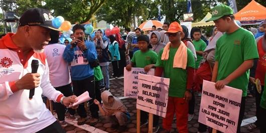 Padang Peringati Hari Autis dan Down Syndrome Sedunia